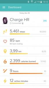 Fitbit App: overzicht