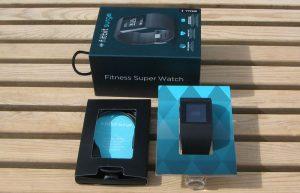 Fitbit Surge en verpakking